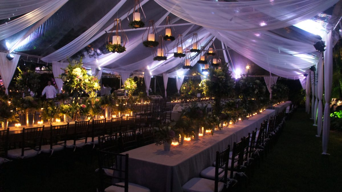 The Right Wedding Tents For Your Outdoor Reception